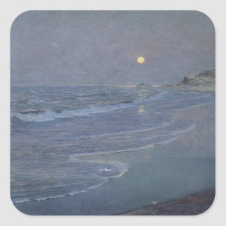 Seascape, c.1892-93 square sticker