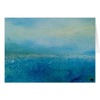 Seascape, Cornwall Card