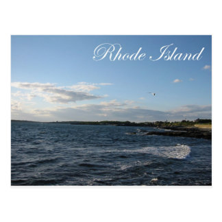 Seascape in Rhode Island Postcard