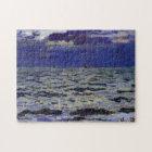 Seascape Monet Fine Art Jigsaw Puzzle