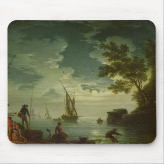 Seascape, Moonlight, 1772 Mouse Pad