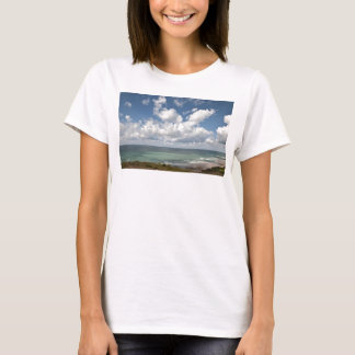 Seascape of the french Atlantic coast T-Shirt