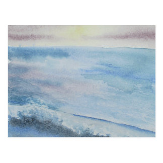 Seascape painting greeting cards postcard