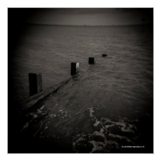 Seascape - Toy Camera, Diana. Poster. Poster