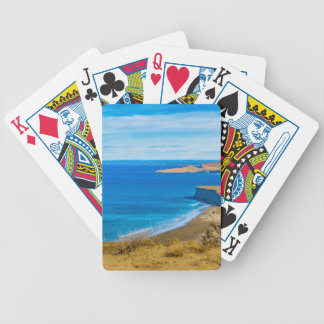 Seascape View from Punta del Marquez Viewpoint Bicycle Playing Cards