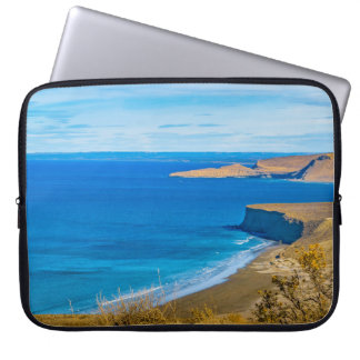 Seascape View from Punta del Marquez Viewpoint Laptop Sleeve