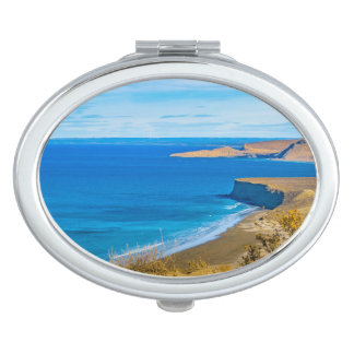 Seascape View from Punta del Marquez Viewpoint Makeup Mirrors