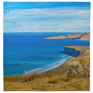 Seascape View from Punta del Marquez Viewpoint Napkin