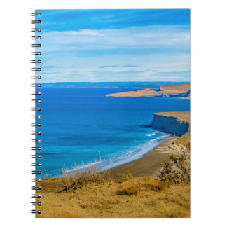Seascape View from Punta del Marquez Viewpoint Spiral Notebooks