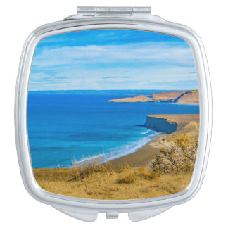 Seascape View from Punta del Marquez Viewpoint Travel Mirror