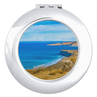 Seascape View from Punta del Marquez Viewpoint Vanity Mirrors