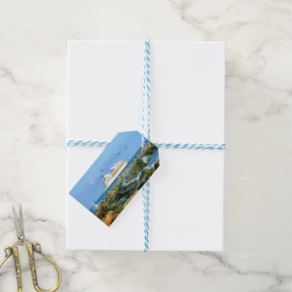 Seascape with Cruise Ship Custom Gift Tags