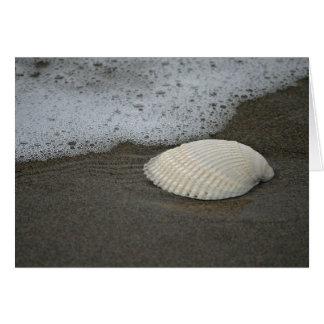 Seashell and Surf Card