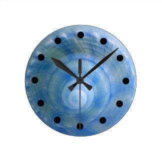 Seashell Bath Set Wall Clock