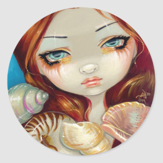 """Seashell Beauty"" Sticker"