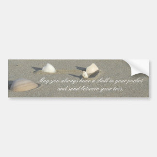 Seashell Bumper Sticker