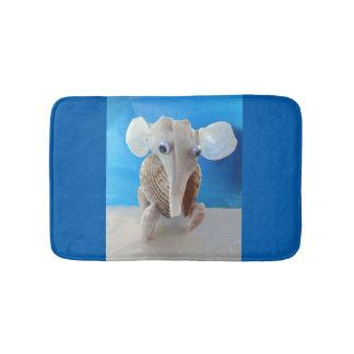 Seashell Elephant Craft Animal Sanibel Island FL Bath Mat