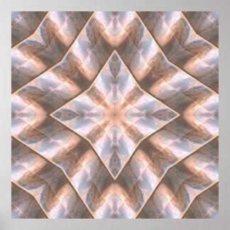 Seashell Layers Poster
