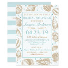 Seashell Nautical Beach Wedding | Bridal Shower Card