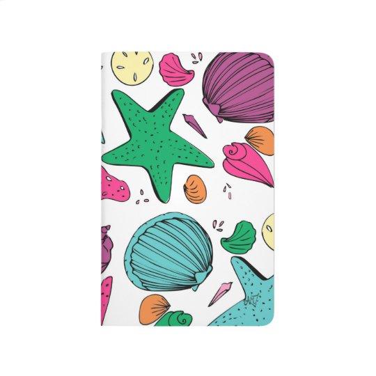 Seashell Notebook Journals