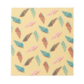 Seashell Notepad