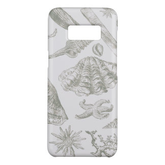 Seashell Ocean Beach Art Print Vintage Pattern Case-Mate Samsung Galaxy S8 Case