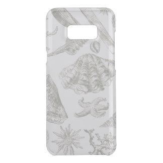 Seashell Ocean Beach Art Print Vintage Pattern Uncommon Samsung Galaxy S8 Plus Case