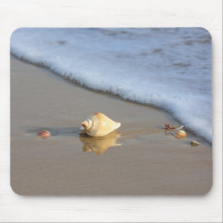 Seashell on the Beach Mouse Pad