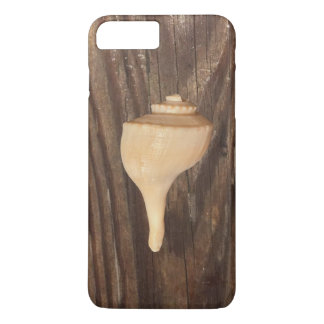 Seashell on wood iPhone 7 Plus barely there case