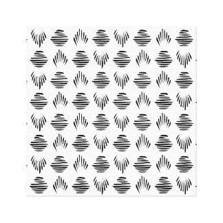 Seashell Pattern canvas print