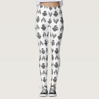 Seashell Pattern leggings