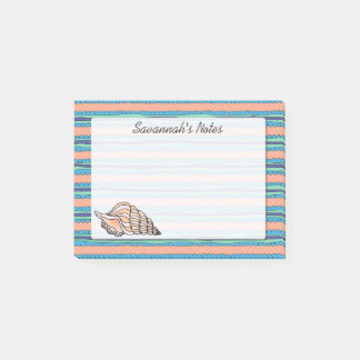 Seashell Personalized Post-it® Notes