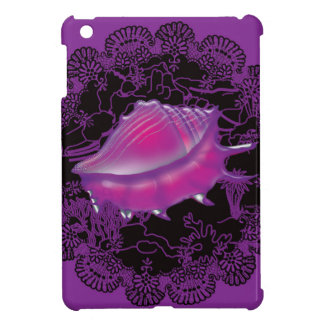 Seashell Purple Cover For The iPad Mini