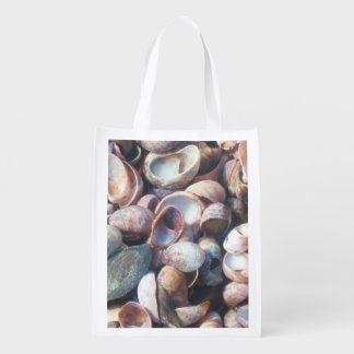Seashell Shopping Bag Grocery Bag
