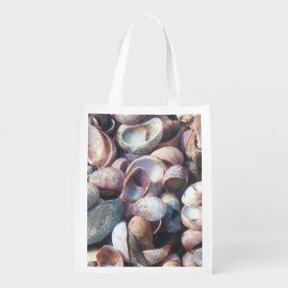 Seashell Shopping Bag Grocery Bag