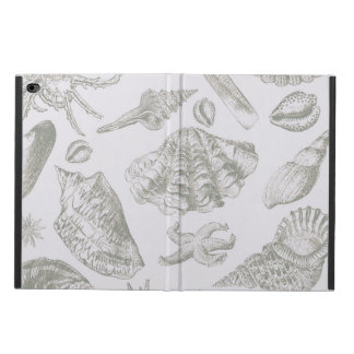 Seashell Soft Antique Art Print Beach House Powis iPad Air 2 Case