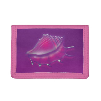 Seashell Tri-fold Wallets