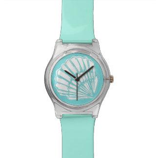 Seashell Turquoise Wristwatch