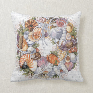 Seashell Wreath Pillow