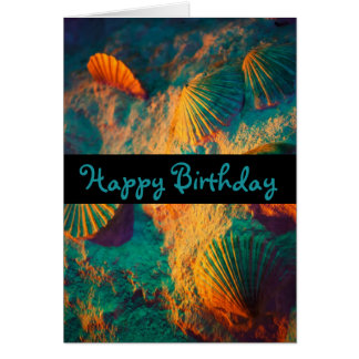 Seashells and Sand Card