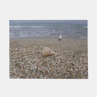 Seashells and Sea Gulls Doormat
