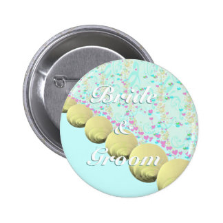 SeaShells BeachWedding 2 Inch Round Button