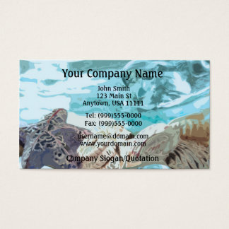 Seashells Business Card