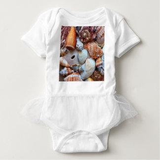 Seashells by the Seashore Baby Bodysuit
