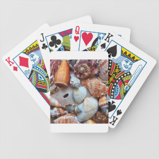 Seashells by the Seashore Bicycle Playing Cards