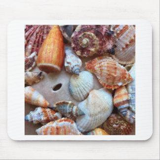 Seashells by the Seashore Mouse Pad