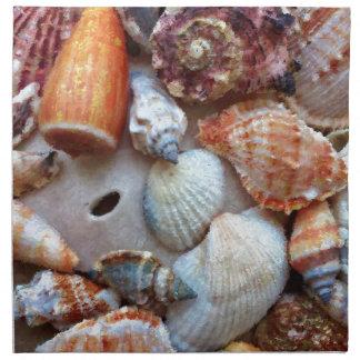 Seashells by the Seashore Napkin