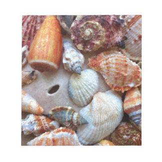 Seashells by the Seashore Notepad