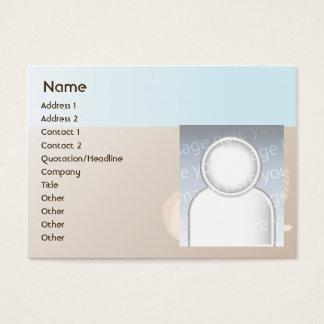 Seashells - Chubby Business Card