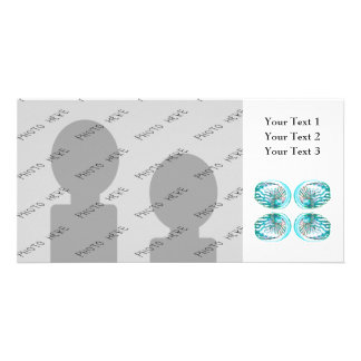 Seashells Design Photo Greeting Card